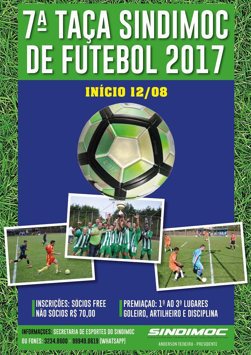 7ª Taça Sindimoc de Futebol · imagem A mais esperada competição ... e2cc1c4058c34