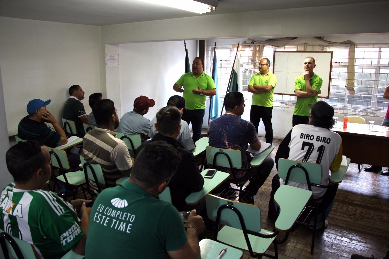 Reuniões do arbitral formalizam regras da 7ª Taça Sindimoc de Futebol 96a70c003cc66