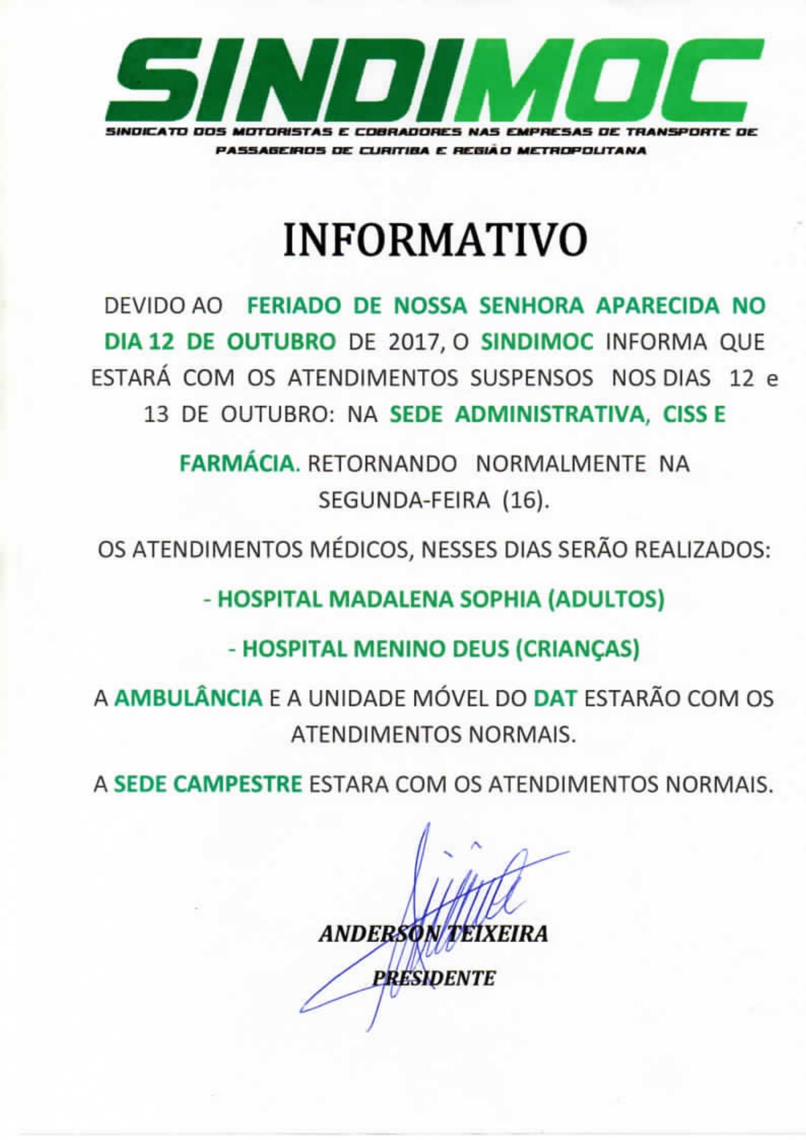 Notícias do Sindimoc - Sindimoc 0813569560e00